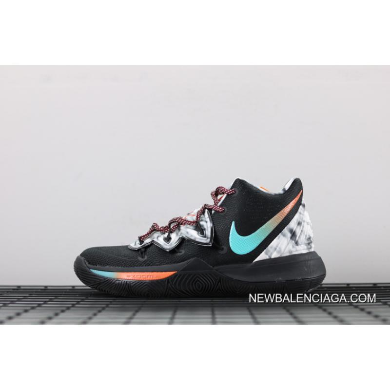 outlet store e5b2d 332c1 Big Deals Nike Kyrie 5 Black Multi-Color ...