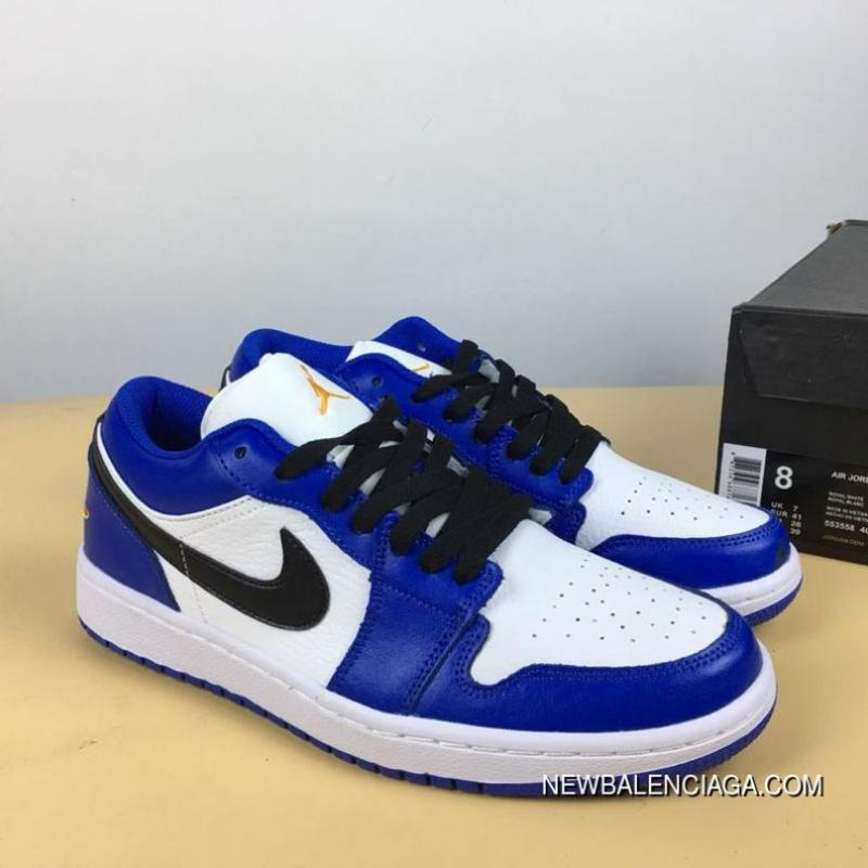 the latest ea84a ce959 Air Jordan 1 Low Small Lightning Game Royal Outlet ...