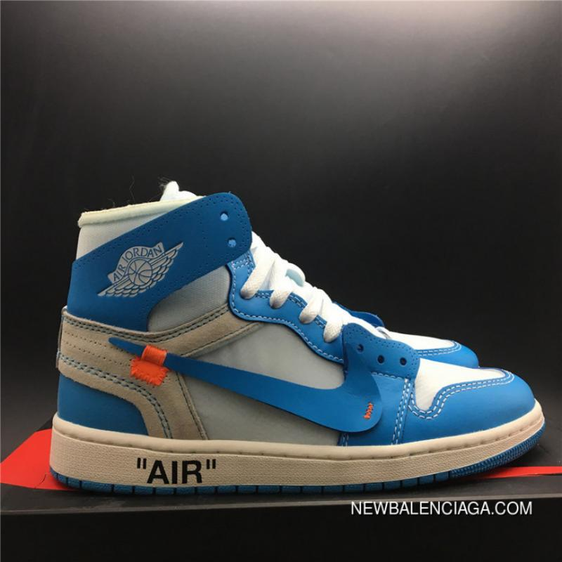 73d3027d22c3f1 God Version 1 North Carolina Colorways Jordan OFF-WHITE Air 1 X Powder Blue  God ...