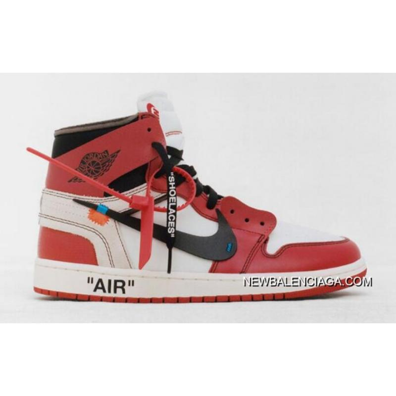 air jordan 1 x off white balenciaga