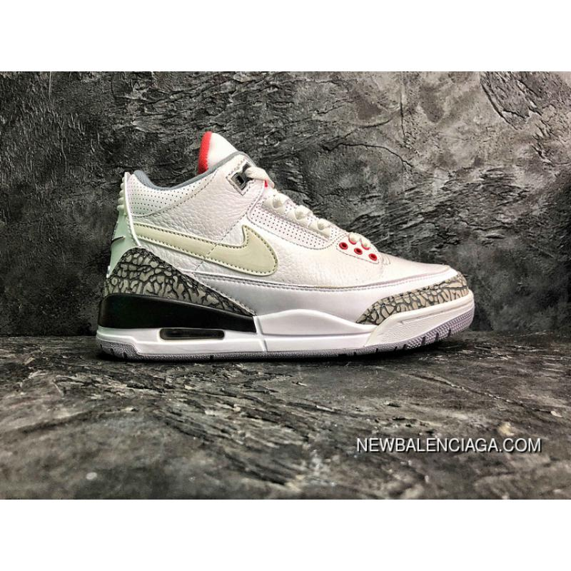 11f6c3ce1b5 Air Jordan 3 Retro Tinker NRG AJ3 Manuscript SKU AV6683-160 FULL GRAIN  LEATHER New ...