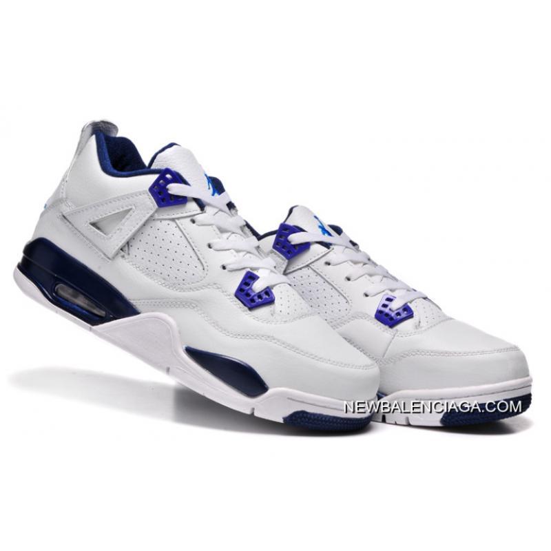 "sneakers for cheap 2bbef ce4c5 ... Top Deals New Air Jordan 4 Retro ""Columbia"" White Columbia Blue-Midnight  ..."