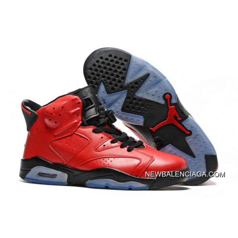 "232c93806a3145 New Release Air Jordan 6 ""Infrared 23″ Infrared 23 Black-Infrared 23 ..."