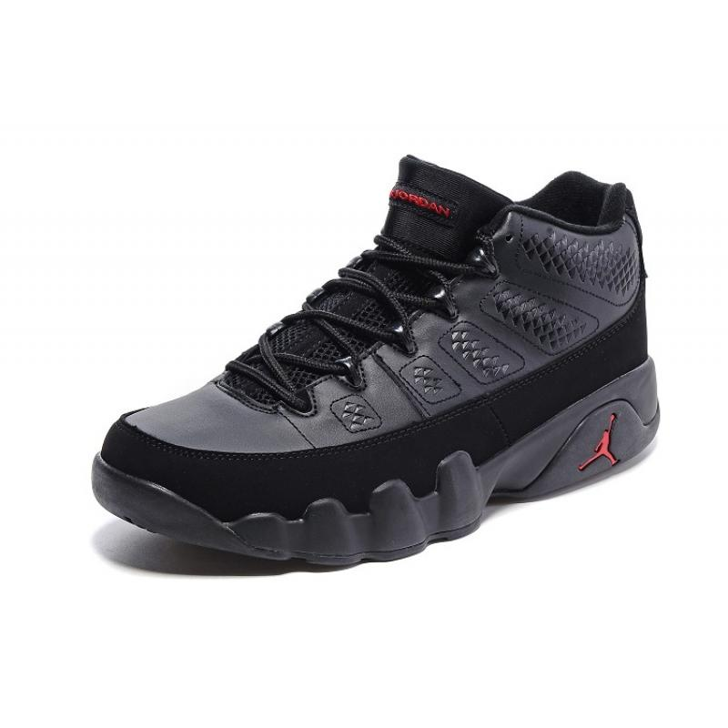 official photos 5f946 7a293 ... New Air Jordan 9 Low Black Varsity Red Top Deals