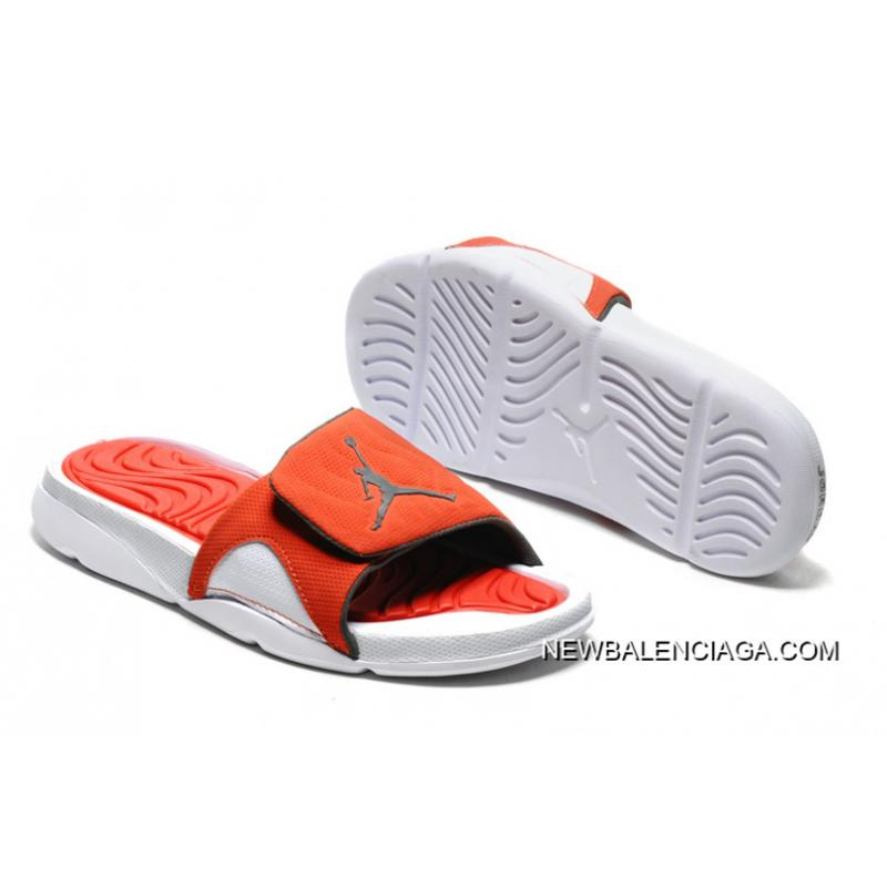 965a47cfd5f Latest Air Jordan Hydro IV Retro White Orange Slide Slippers, Price ...
