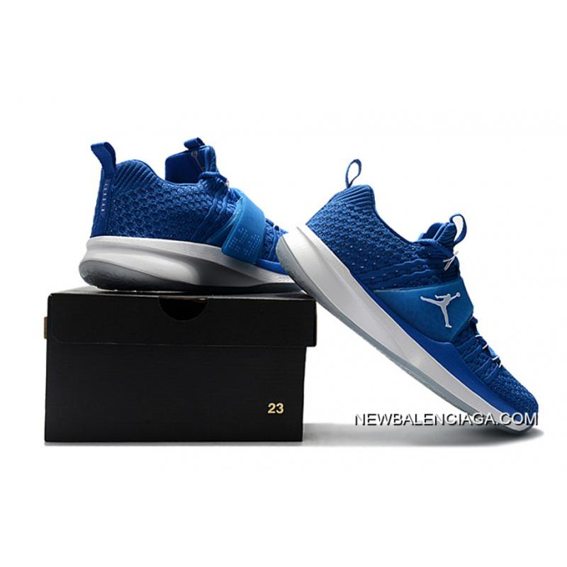 0cbcdb513cc69 ... For Sale Jordan Trainer 2 Flyknit Royal Blue White