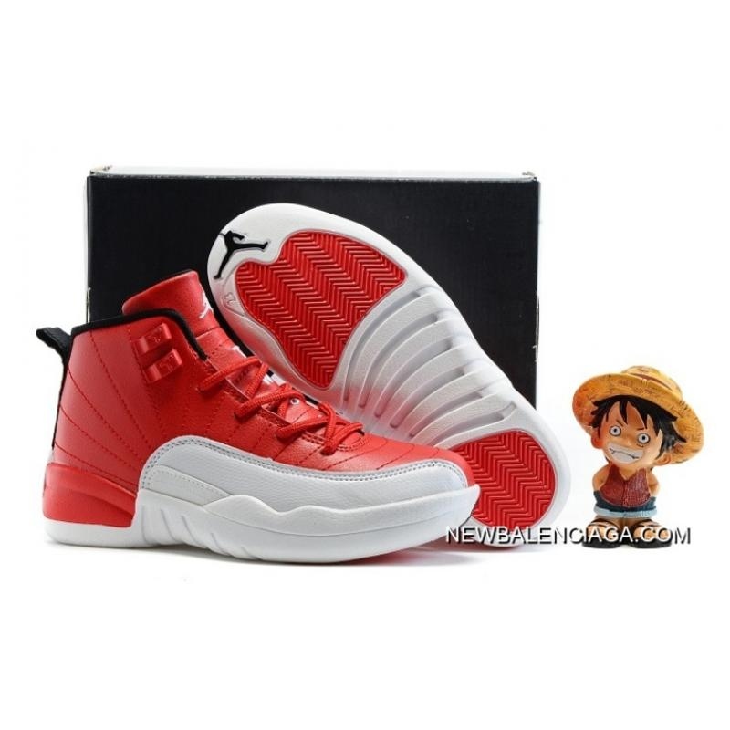 "newest 67b6d 83893 Kids Air Jordan 12 ""Gym Red"" Where To Buy ..."