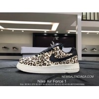 a7e45ebbe4a7 Nike Air Force 1 AF1 WMNS Air Force 1 LX Leopard White New Style