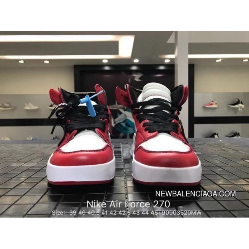 6ce9af77d9e ... Nike Air Force 270 Collaboration Zoom Air Mid Top Men Running Shoes  AH6772-010 Outlet ...