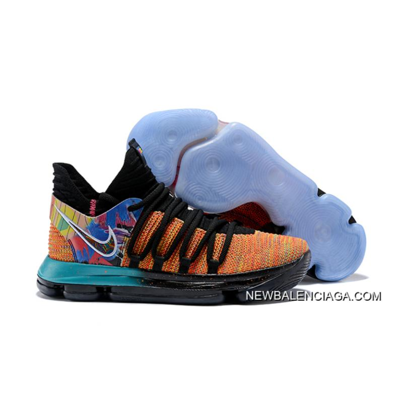"""hot sales 89d9b 31684 Online Nike KD 10 """"What The"""" PE ..."""