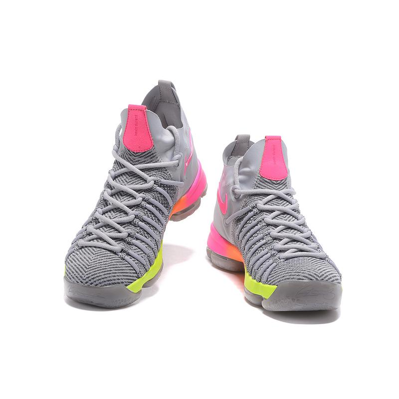 separation shoes 705f1 75215 ... coupon code for official store discount nike zoom kd 9 elite grey pink  orange volt basketball