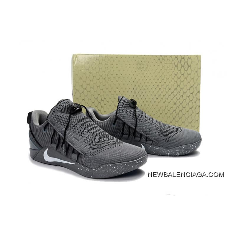 ff42b0d7e41d ... Nike Kobe A.D. NXT Dark Grey White New Release ...