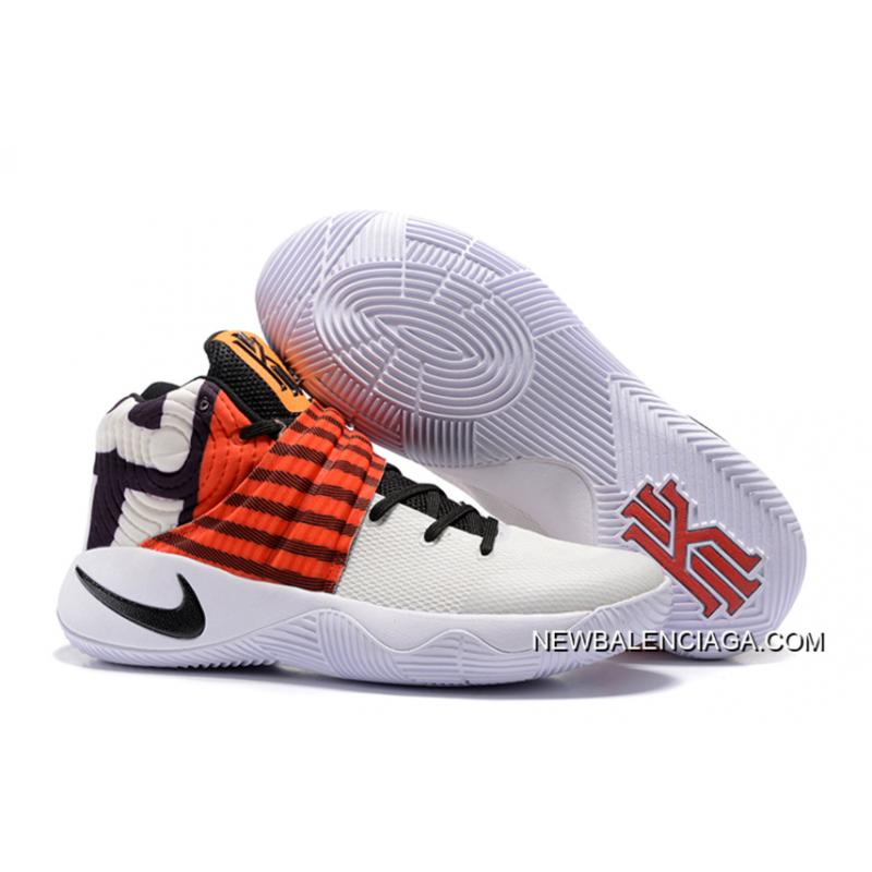 """size 40 30179 554e5 Top Deals Nike Kyrie 2 """"Crossover"""" White University Red-Black ..."""