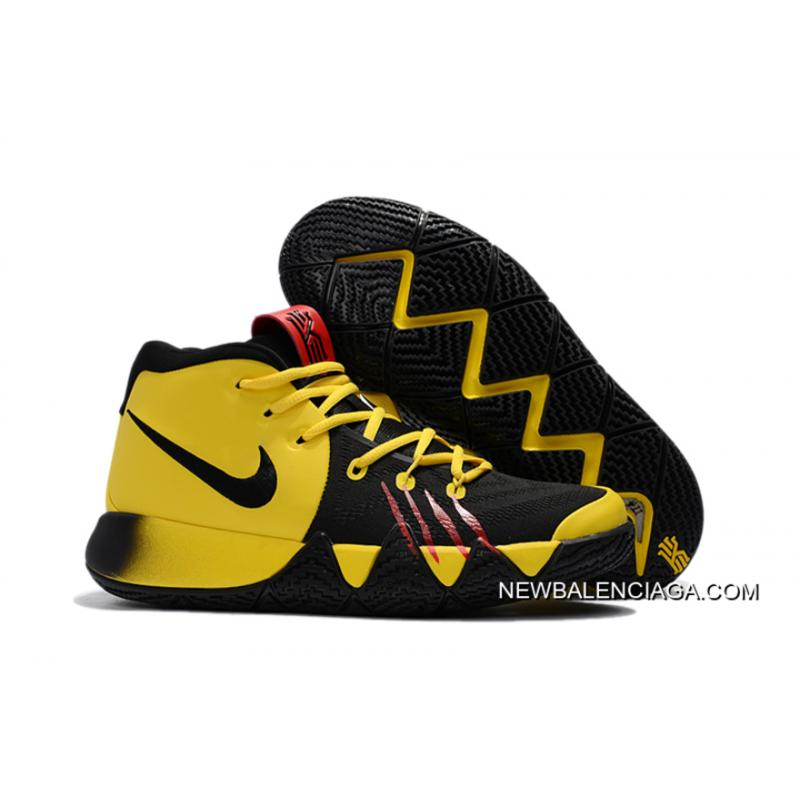 "Nike Kyrie 4 ""Bruce Lee"" Tour Yellow/Black New Style ..."