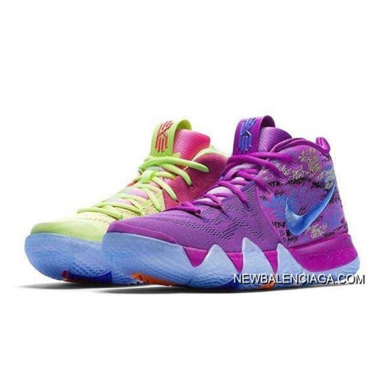 "pretty nice 38803 20766 Nike Kyrie 4 ""Confetti"" Multi-Color Copuon ..."