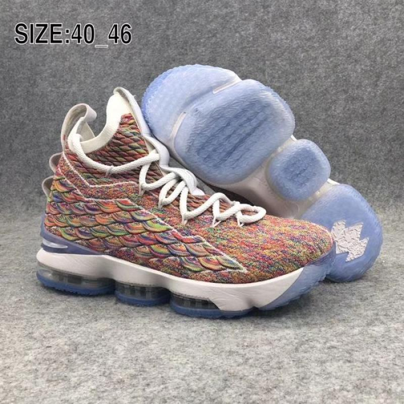 fdf14239ed3d Men Nike LeBron 15 Basketball Shoes SKU 192775-650 Best ...