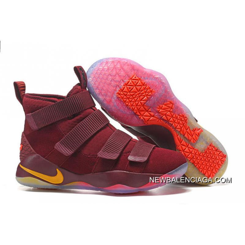 "purchase cheap 73db0 abb15 Discount Nike LeBron Soldier 11 ""Cavs"" PE"