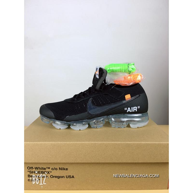 f86d52f16b NIKE 2018 To Be Pure Black Zoom Air Level OFF-WHITE VaporMax X Best ...