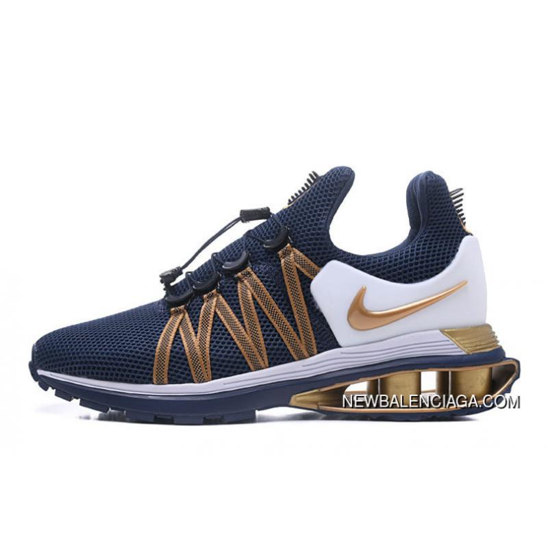 best service d073f 5c31c NIKE SHOX 908 Navy Blue Gold 2018 Copuon, Price: $88.56 - Discount ...