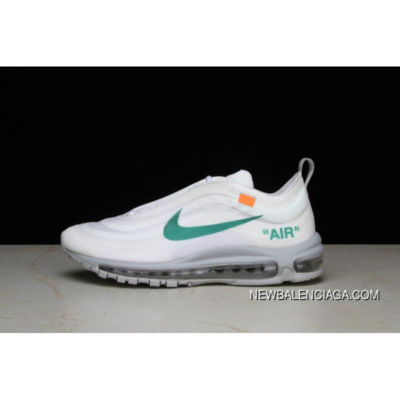 3a4dd7955b P26 OFF-WHITE X Nike Air Max 97 Bullet Running Shoes Collaboration  Publishing Women Shoes ...