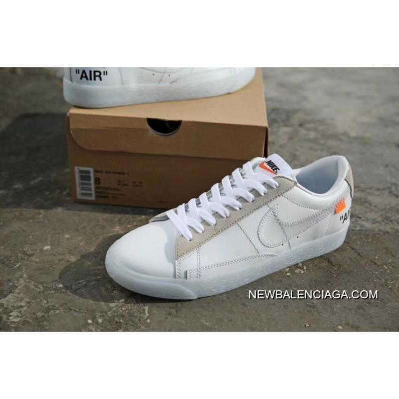 new styles 7f2d8 b93bb OFF-White X Nike Blazer Mid OW Men Women Shoes Super Deals ...