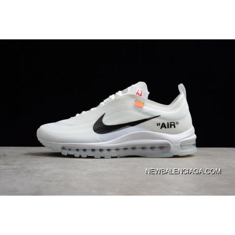 a45a00545a Online Men Off White X Nike Air Max 97 Running Shoe SKU:169038-216 ...