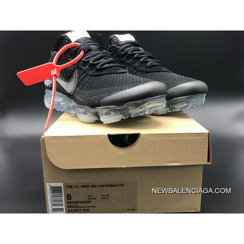 e1e5aea5486f All Sizes Sku Aa3831-002 Off-White X Nike Air Vapormax 2018 Zoom Out ...