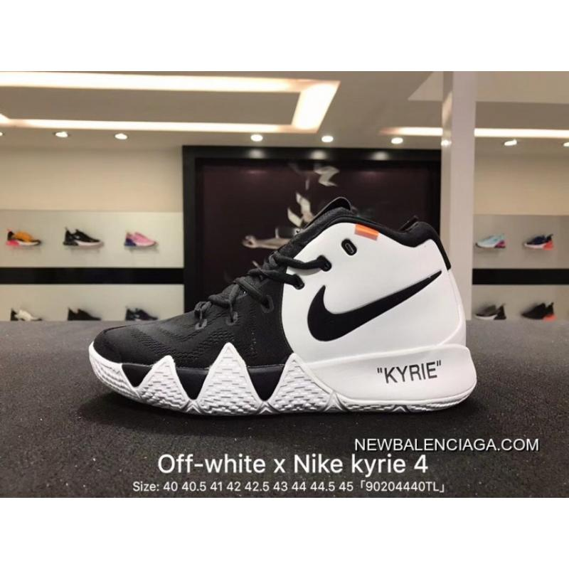 05e6c5720b69 Nike Off-White Kyrie 4 X 18 Spring Kyrie Ep Irving Creative To Be  Customized ...