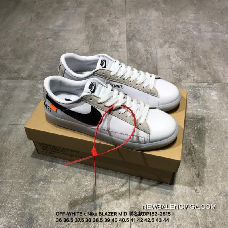 New Release OFF WHITE X Nike BLAZER MID Joint Publishing DP182 2614