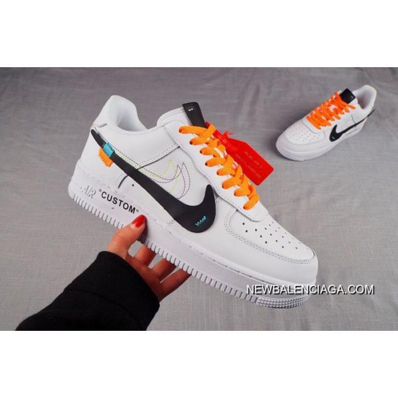 size 40 c8d41 c37ac Men Nike Air Force 1 Custom Off White SKU 69304-262 Copuon ...
