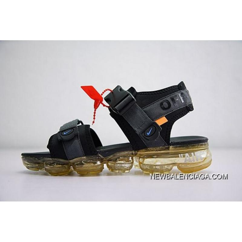 20b9d7c46f30 Men Off White X NNike Air VaporMax Sandals SKU 29250-283 New Style ...