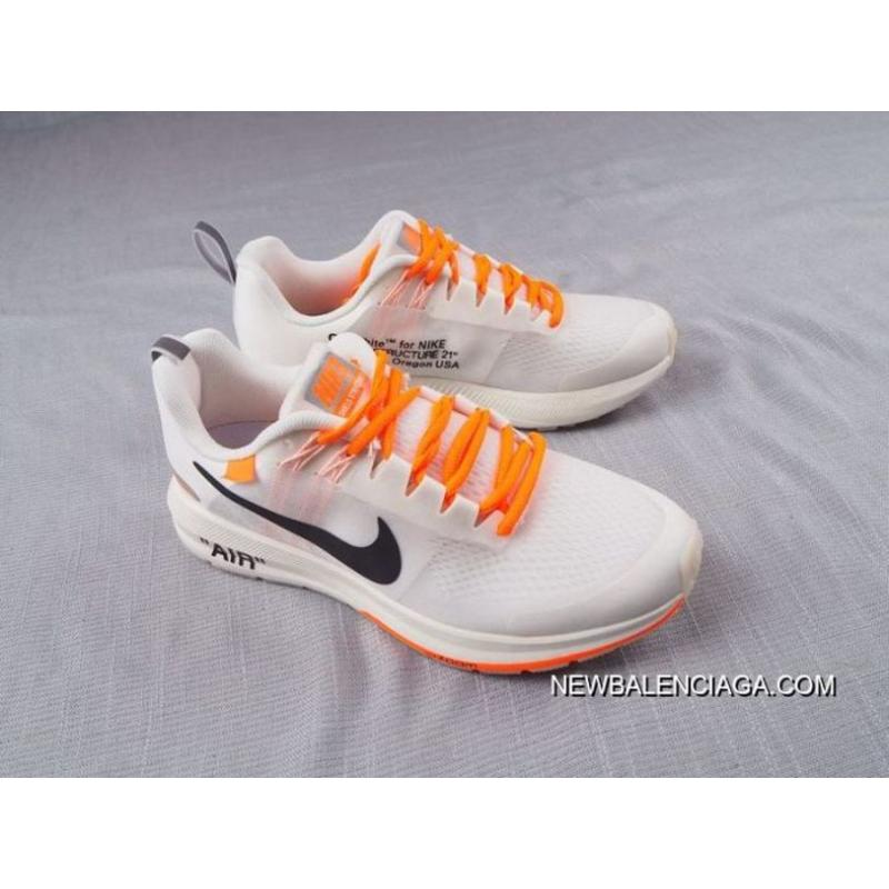 1c8898b344b92 ... For Sale Men Off White Virgil Abloh X Nike Air Zoom Structure 21  SKU 145730 ...
