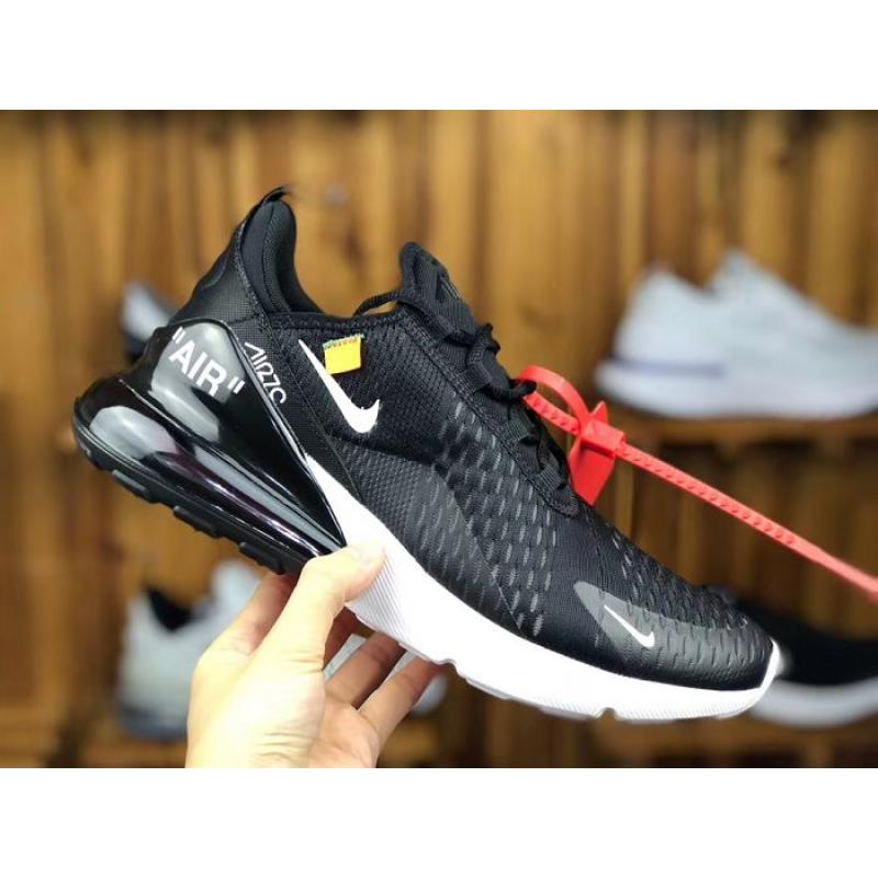 97b92aa1a5 New Year Deals Men OFF-WHITE X Nike Air Max 270 Running Shoe SKU: ...