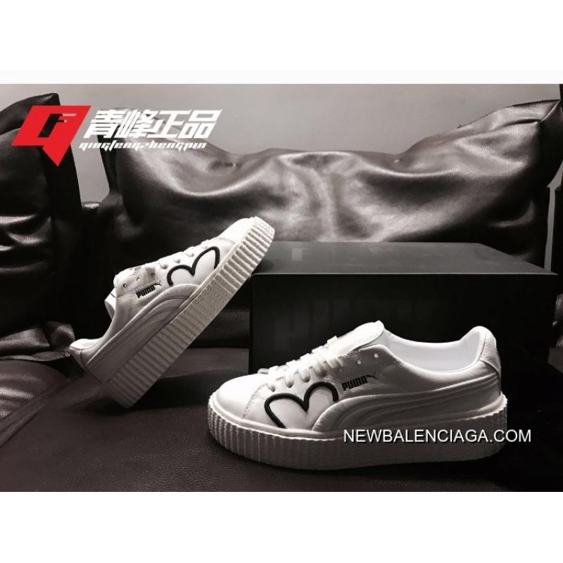 4dacefacd ... Puma Fenty CLF Creeper Women White Shoes Buy Now ...