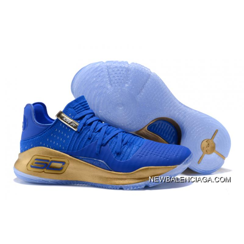 eb05efc77cd4 Under Armour Curry 4 Low Royal Blue Gold New Style ...