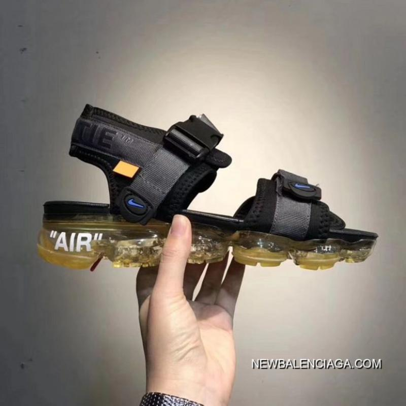 off white vapormax sandals