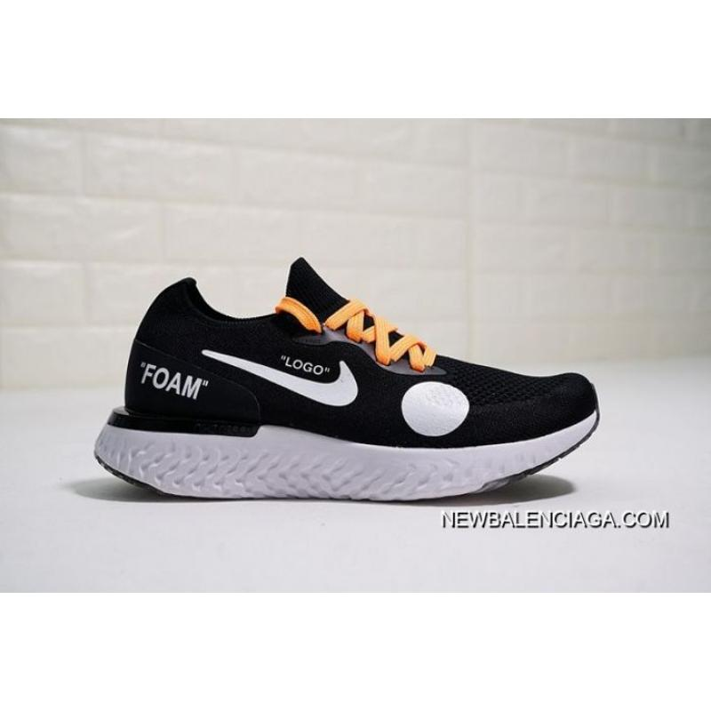 newest collection e957e 0f474 Women OFF-WHITE X Nike Epic React Flyknit Sneaker SKU 32187-273 Latest ...