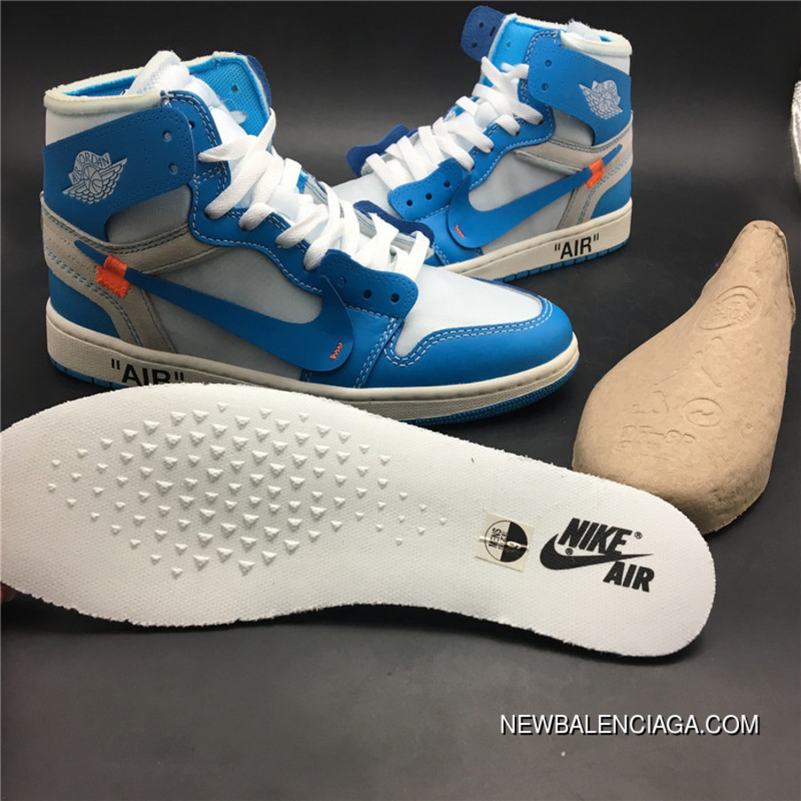 6a9bd8fecda4d2 God Version 1 North Carolina Colorways Jordan OFF-WHITE Air 1 X Powder Blue  God