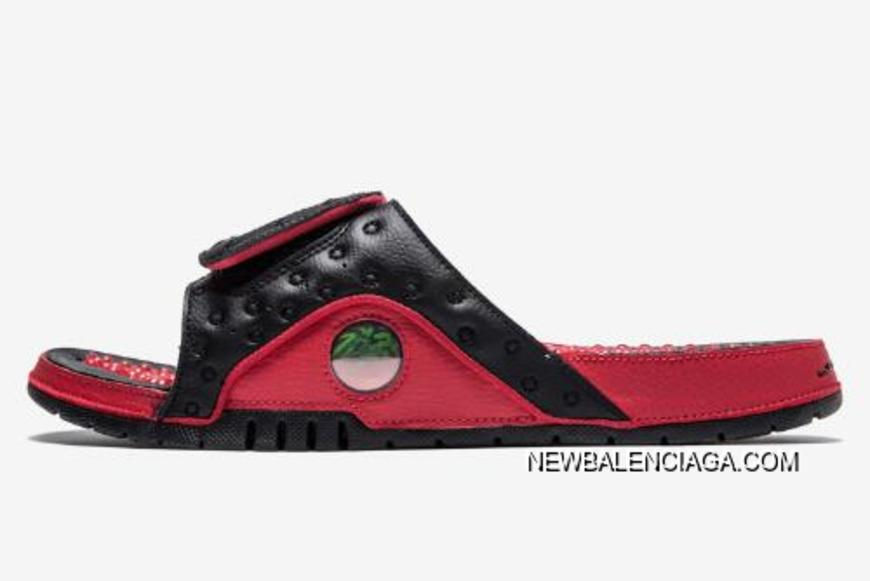 034e1fb7a Best Air Jordan Hydro 13 Black Gym Red Sandals