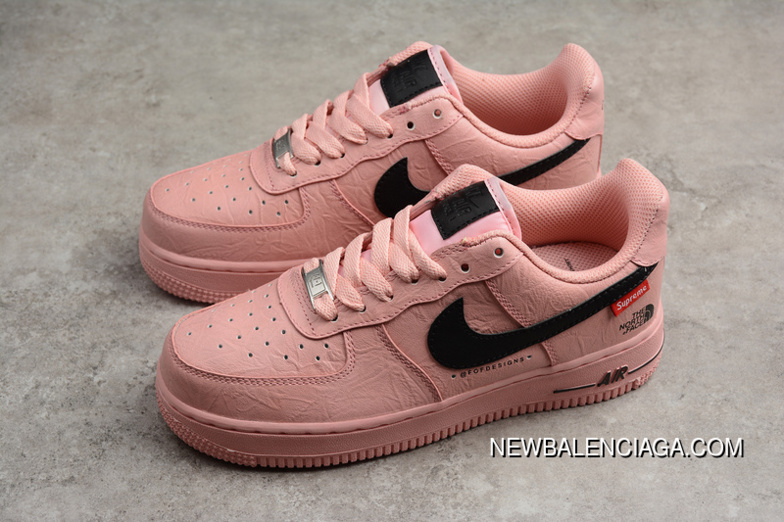 Nike Air Force One R27 Pink Black Swoosh Men Shoes Top Deals