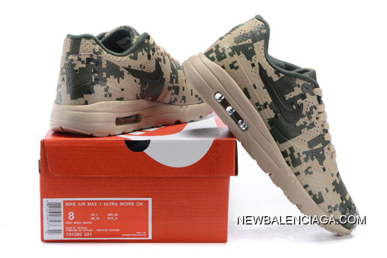 official photos 8fdc6 0be21 Discount Men Running Shoes Nike Air Max 1 Ultra Moire SKU 177072-312
