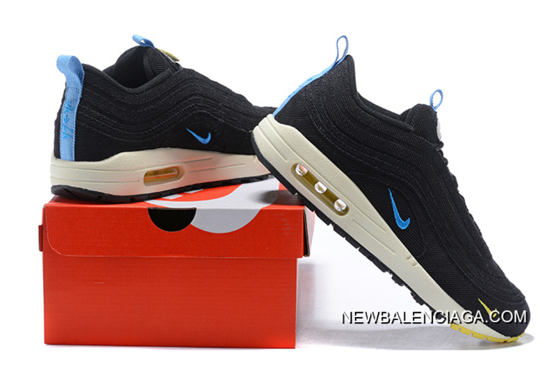 a7f4362ca14562 Men Nike Air Max 97 X Air Max 1 Sean Wotherspoon SKU 30944-263 Best ...