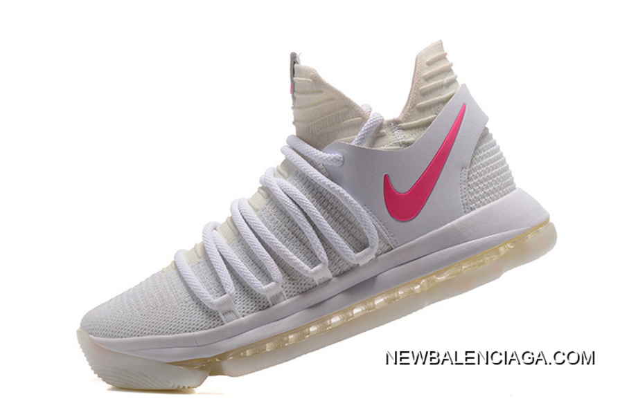 1f2a8958a97 Nike KD 10 White Pink Glow In The Dark For Sale