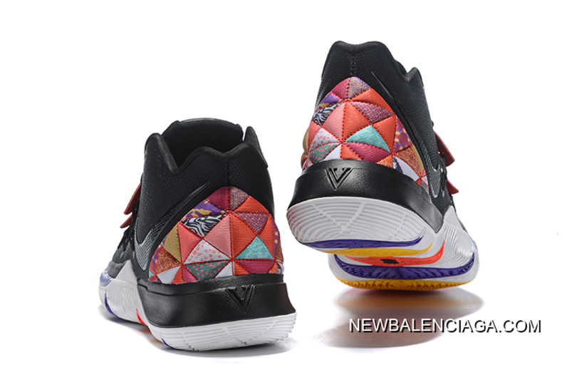 09ee7583a53a Nike Kyrie 5 Black Multi-Color Online