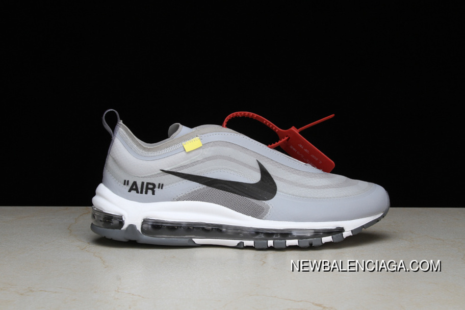 THE 10 NIKE Air Max 97 OG X OFF WHITE Bullet Super Limited Joint Publishing AJ4585 100 Size For Sale