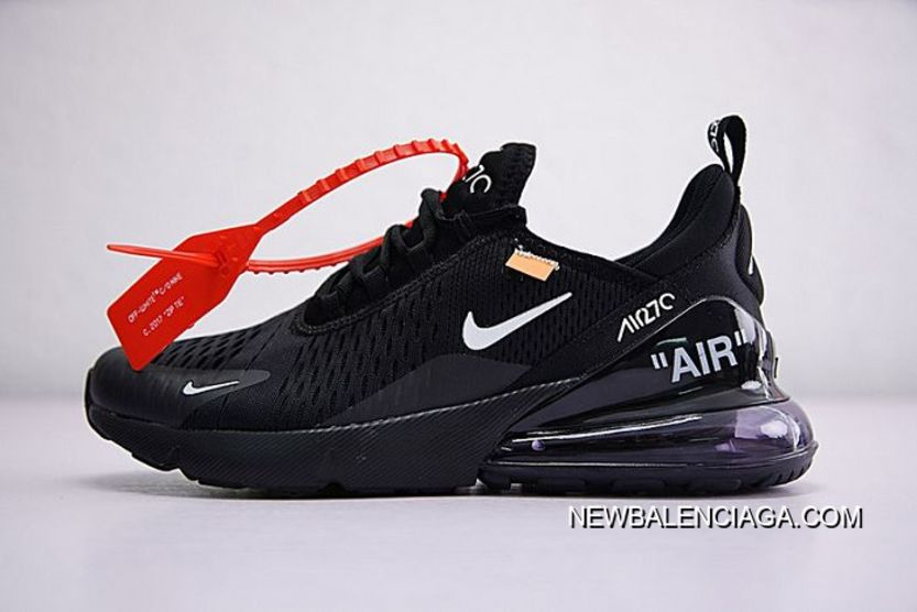 cefc63017a4 Latest Men Off White X Nike Air Max 270 Running Shoe SKU 198316-267 ...