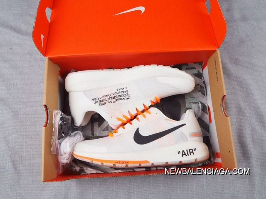 50c0606188f6 For Sale Men Off White Virgil Abloh X Nike Air Zoom Structure 21 SKU 145730