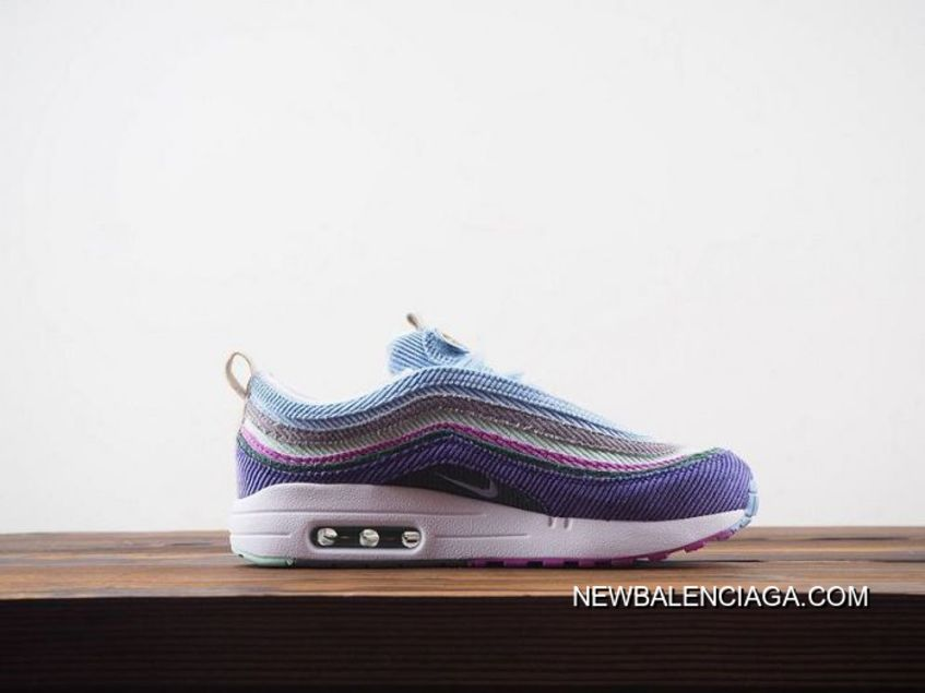 Women Sean Wotherspoon Nike Air Max 97 Hybrid SKU:38760 264 New Year Deals