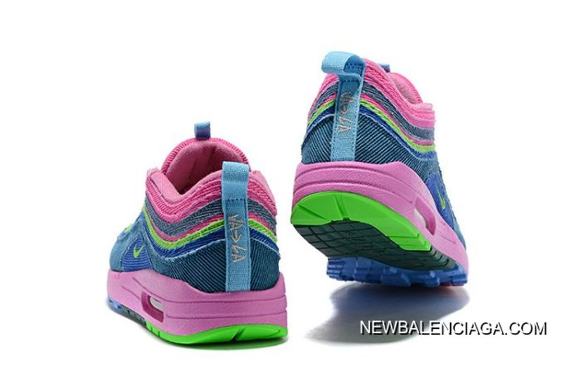 1be50a78b1 Women Sean Wotherspoon Nike Air Max 97 Hybrid SKU:64945-272 For Sale ...