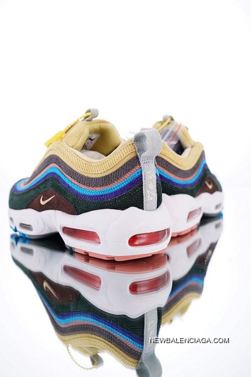 Women Sean Wotherspoon X Nike Air Max 9795 VF SW Hybrid SKU:106315 326 Discount